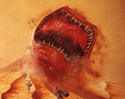 What band name Shai Hulud means - Dune's giant sandworm