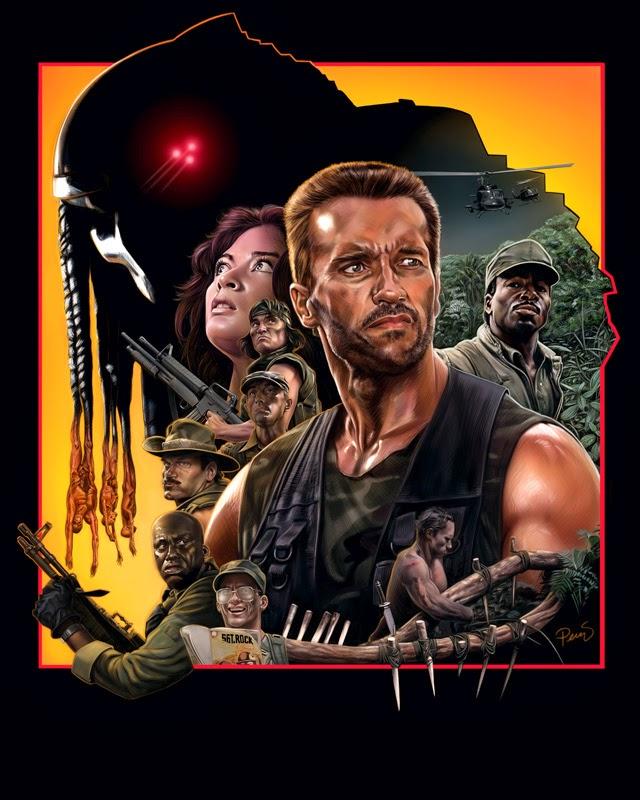 Mike Perry Art. Com: My favorite Movie 1987 u0026quot; The Predatoru0026quot;