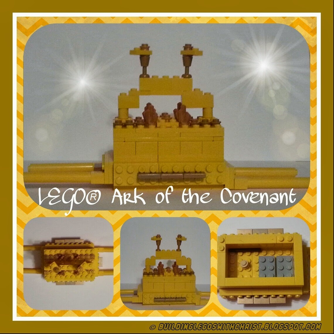 LEGO Ark of the Covenant Creation