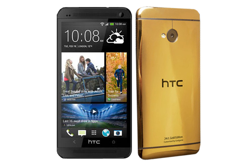 HTC One Gold Edition built by Gold Genie now official ...