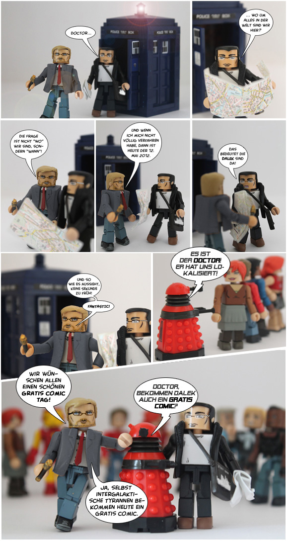 Doctor Who Gratis Comic Tag