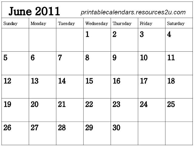 june 2011 calendar blank. june 2011 calendar blank.