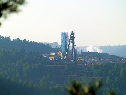 La torre del pou miner de Cabanasses