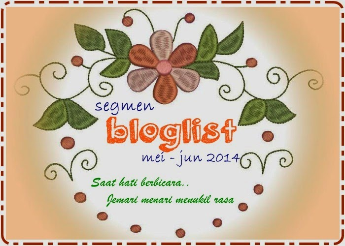 SEGMEN : BLOGLIST MAY-JUN 2014 BY YONG
