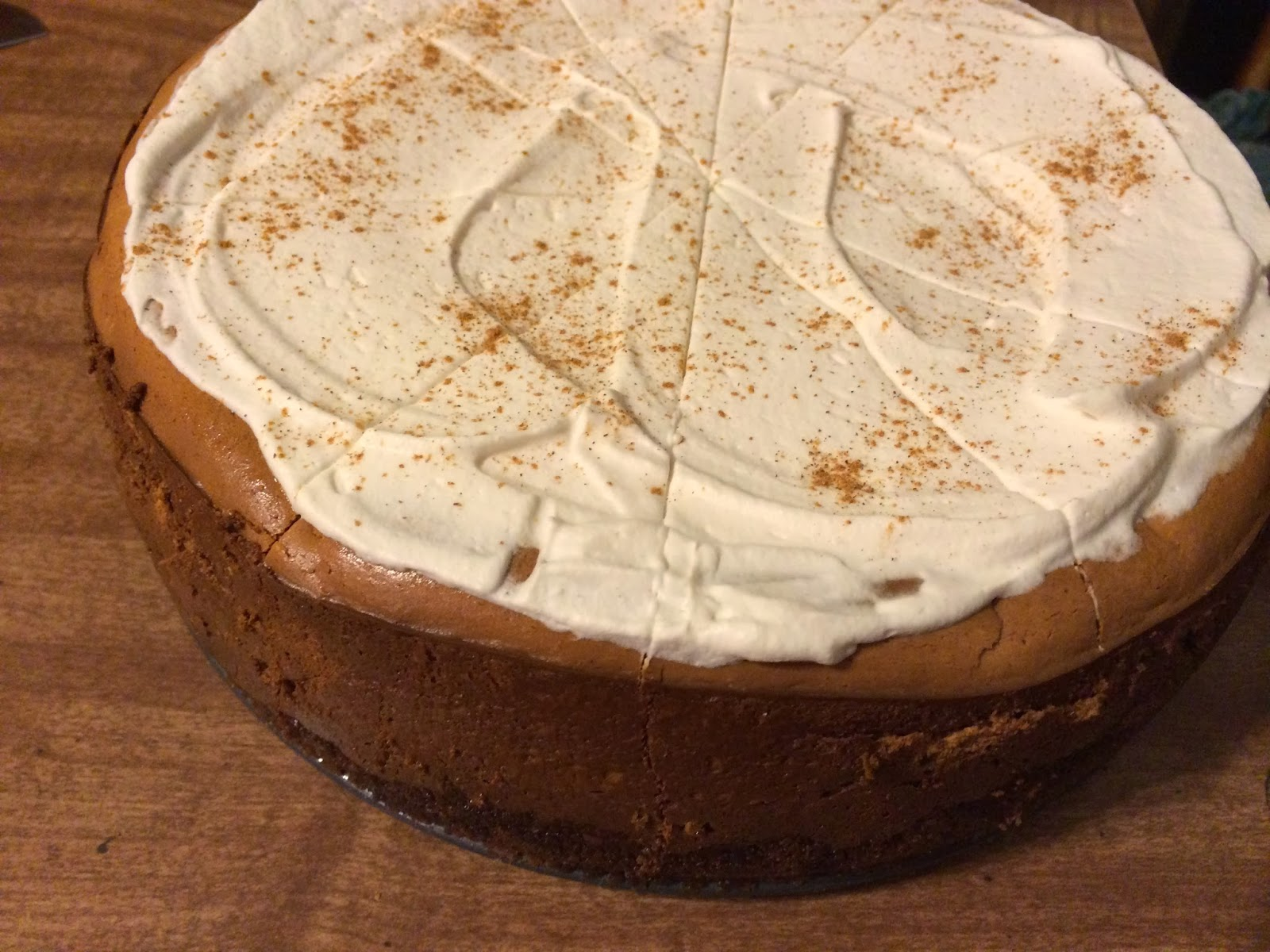 Spiced Pumpkin Cheesecake with a Gingersnap Crust | Life ...