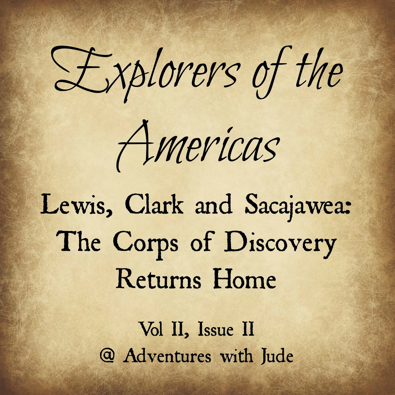 Lewis Clark and Sacajawea explore the Louisiana Purchase
