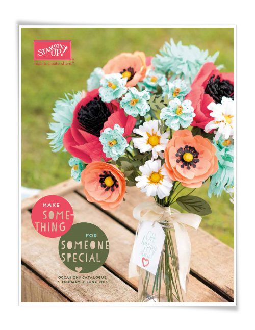 Stampin'Up! Occasions 2015 Catalogue