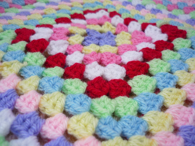 giant granny square crochet