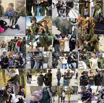Crianças palestinas, presas e torturadas por Israel