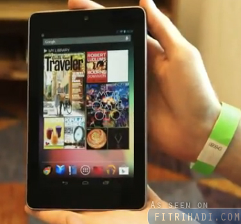 video gambar tablet google nexus 7