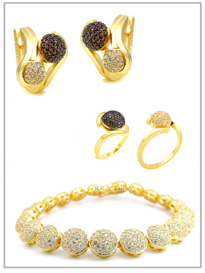 anel pulseira brincos semijoias finas cravejadas zirconias