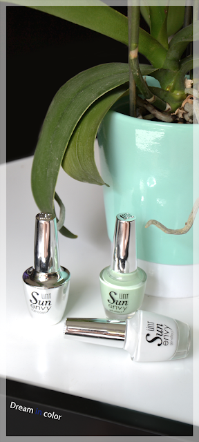 UNT NV005 NV085 top coat sun envy