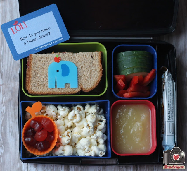 Laptop Lunches lunchbox elefant school lunch - mamabelly.com