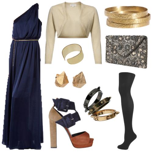 September's Bride: Winter Weddings :: Guest Attire