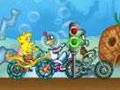 Sünger Bob Bisiklet Yarışı Oyunu