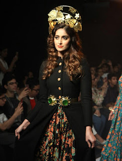 Ileana Walks the Ramp on LFW Winter Festive 2015 in a Very Strange Black Gown