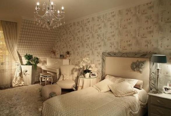 The infantil decora ideas de decoraci n de dormitorios de for Cuartos para ninas vintage