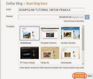 Blogging Gratis Di Blogger