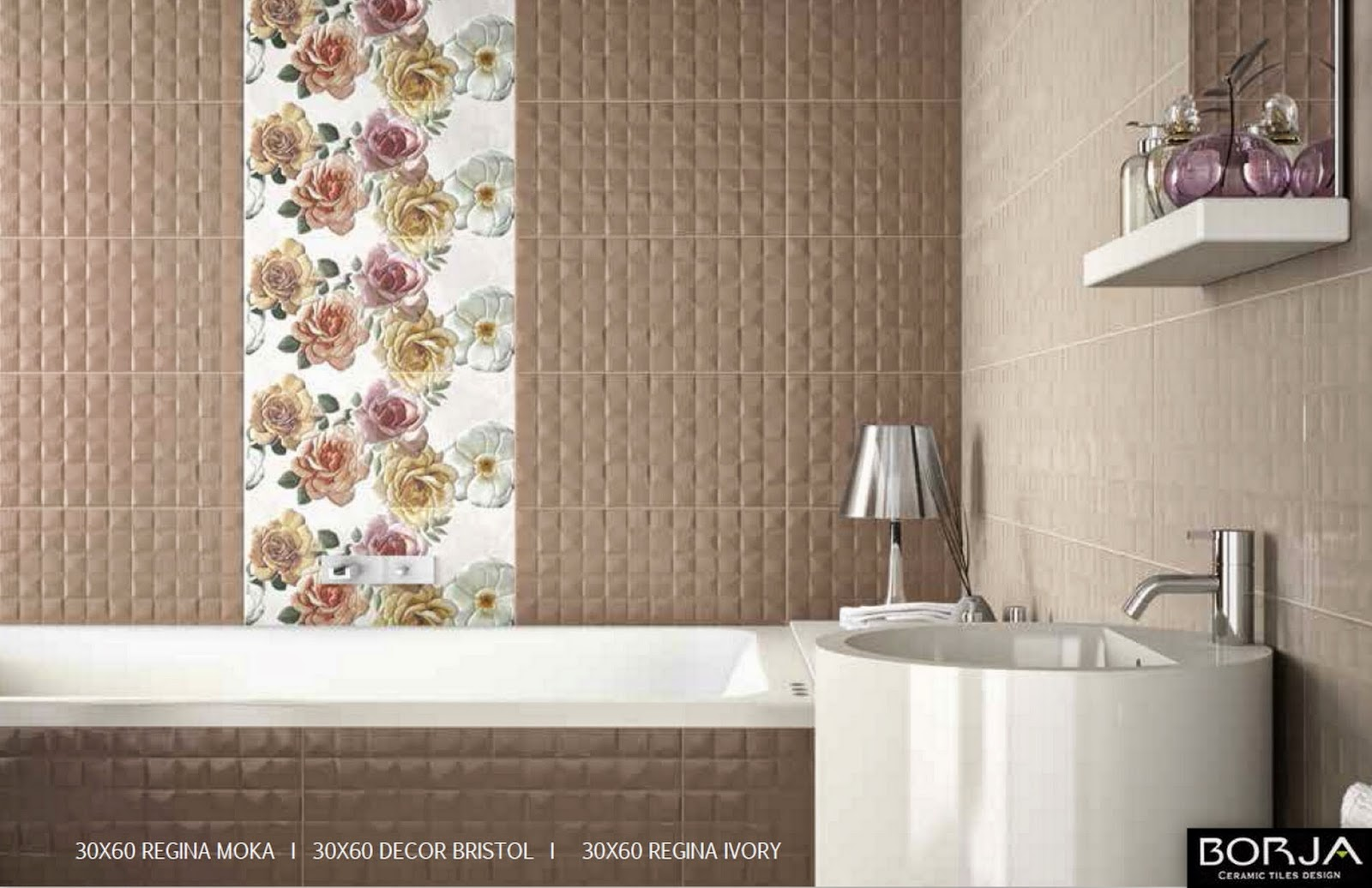Borja ceramic tiles design 3d decoration boston leeds small flowers in the photo below 30x60 ready to order now you can combine them freely with all the seizes 30x60 we dailygadgetfo Image collections