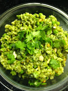 Coriander rice one pot meal