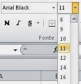 Como alterar o tamanho da fonte de uma planilha do Excel