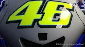 Fairing depan motor YZR M1 Valentino Rossi