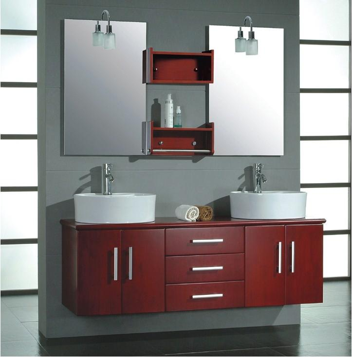 Wonderful SC80029RA Single Bathroom Vanity  Mediterranean  Bathroom Vanities