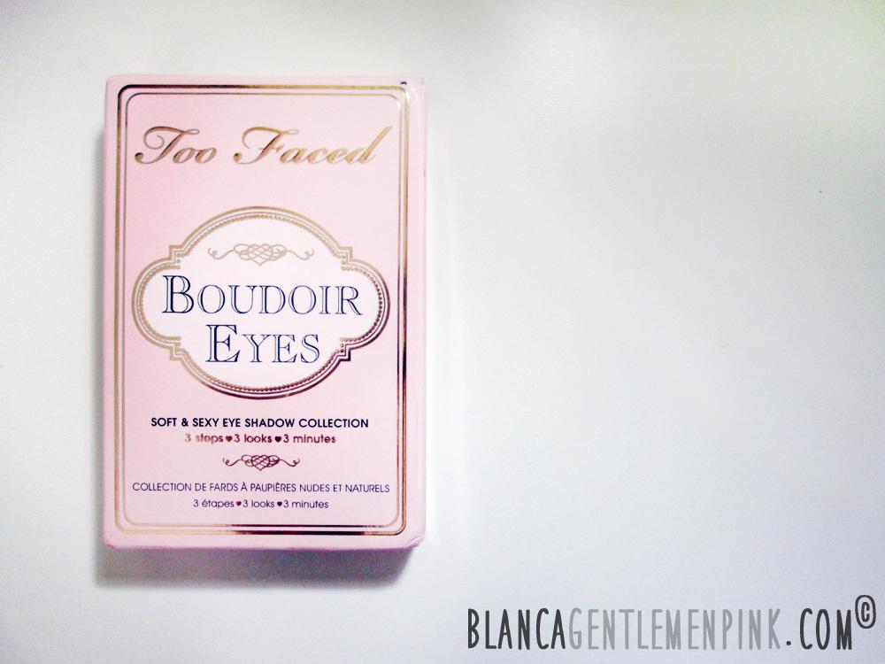 PAleta Boudoir Eyes Too Faced