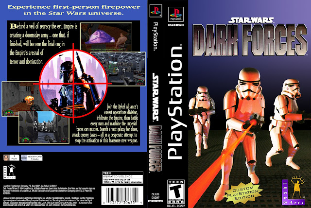 Capa Star Wars Dark Forces Playstation