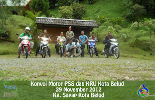 Konvoi Motorsikal PSS dan KRU Kota Belud