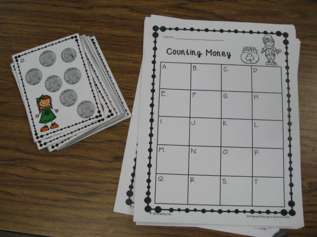 Math Center for 2nd Grade