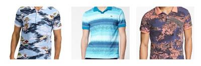 men's tropical polo shirts