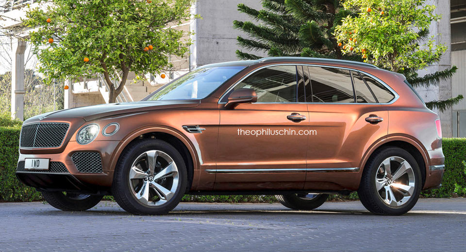 Bentley could slot an all electric suv below the bentayga