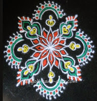 108 videos of rangoli without dots