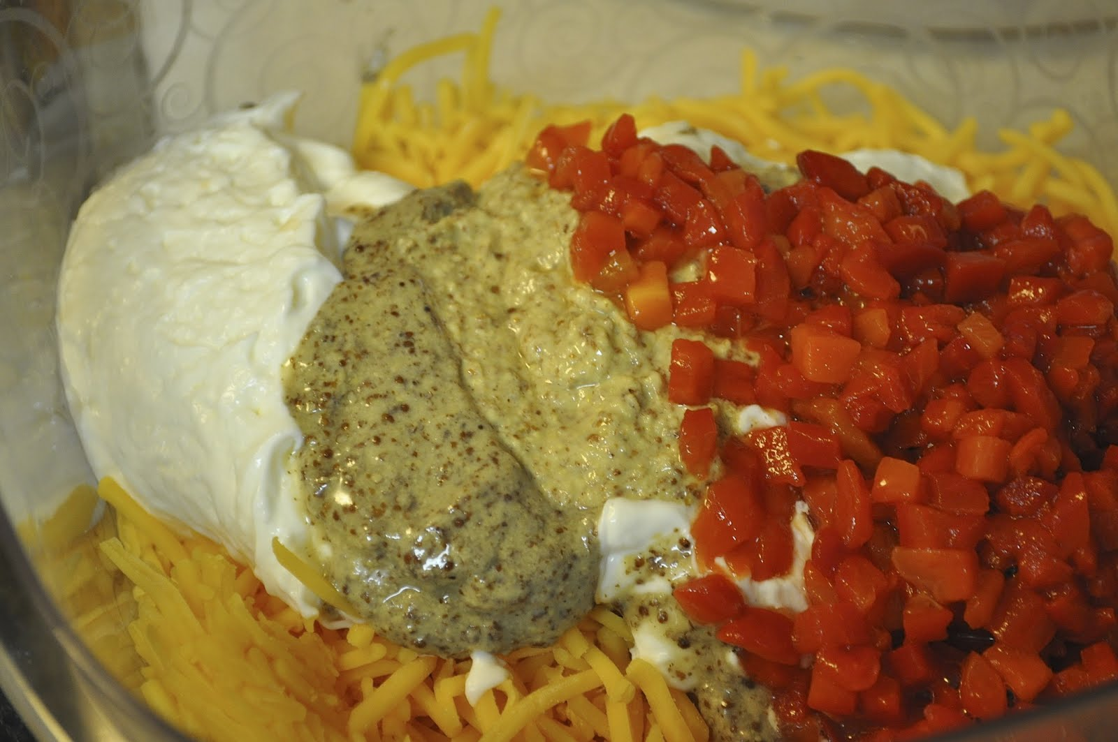 Warm Pimento Cheese And Chips Recipe — Dishmaps