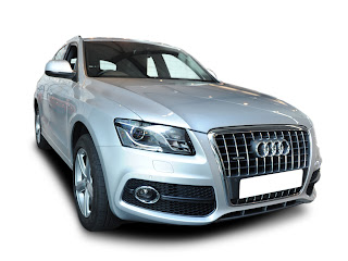 white color Audi Q5 Diesel 3.0 Tdi car picture