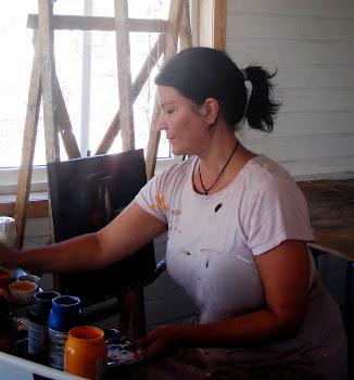 Et lofotbilde blir til på Svinøya