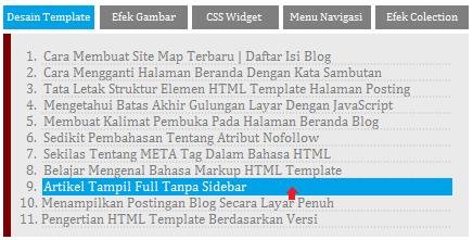 label blogger tab image