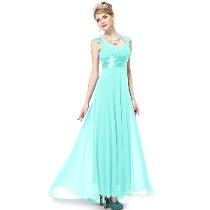 vestido de madrinha de casamento azul turquesa - fotos e dicas
