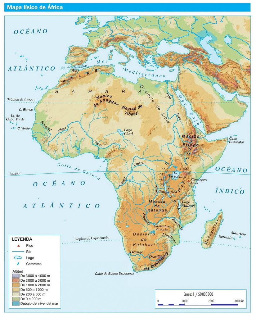 La casa del pasarn El planisferio fsico y polticoLos continentes