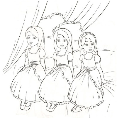 Barbie Girls Kids Coloring Pages download free