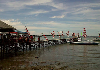 Warga Tanjung Seloka Gelar Selamatan Laut