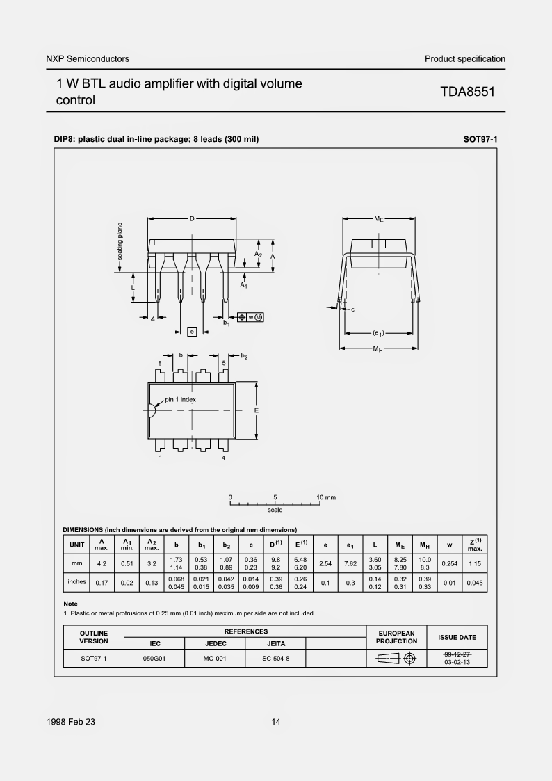 Ds1669 Projects Volume Control Circuit Digital Up Down Using Ic Ds1668