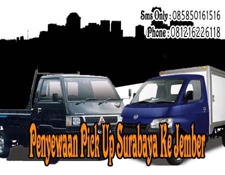 Penyewaan Pick Up Surabaya Ke Jember