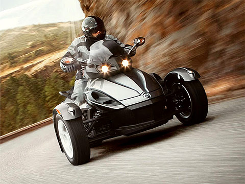 2013 Can-Am Spyder RS Motorcycle Photos, 480x360 pixels