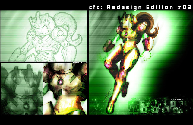 cfc: Redesign Edition #02: Sailor Jupiter por CHEMA