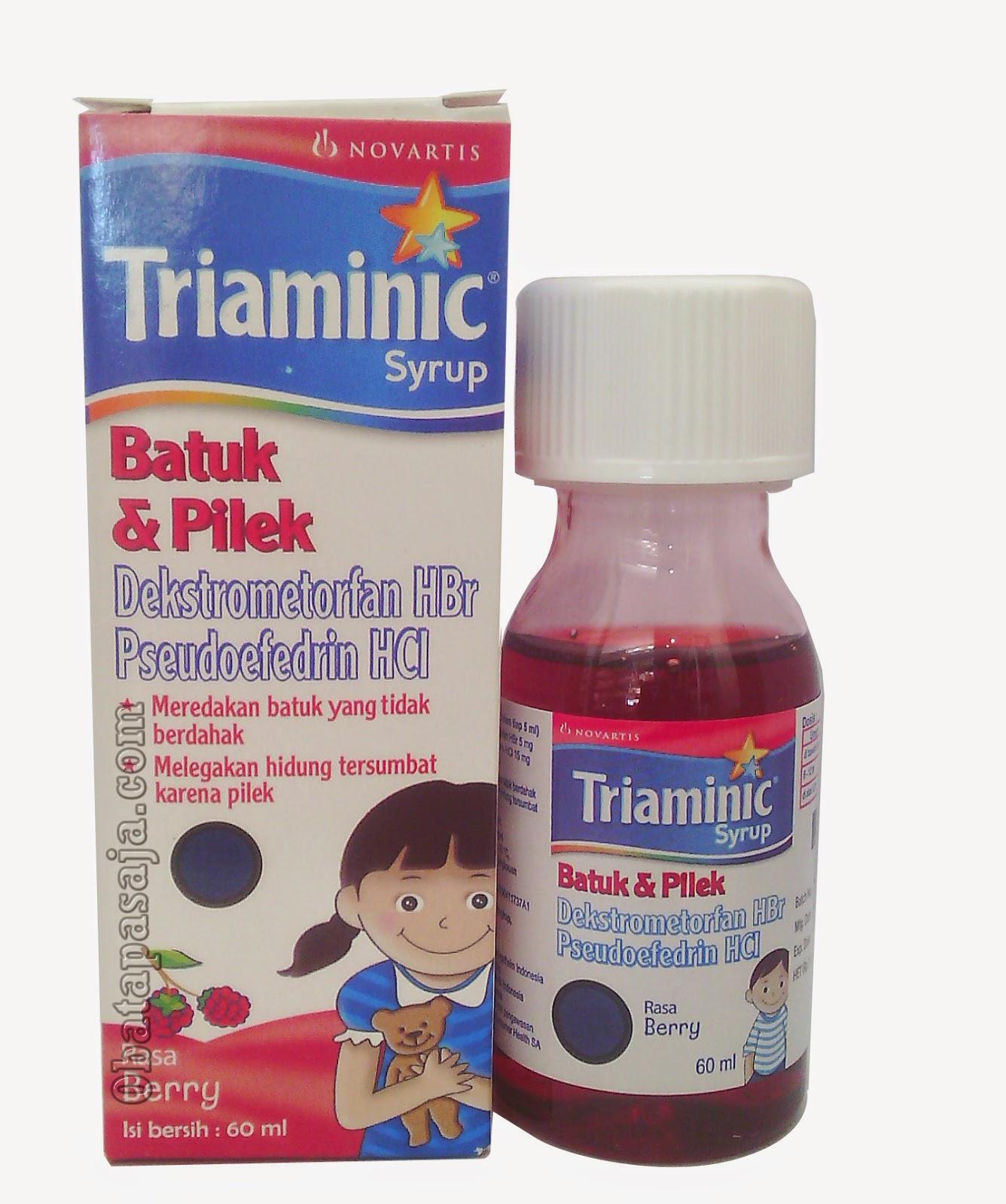 Triaminic Batuk & Pilek  Meringankan batuk tidak berdahak dan melegakan hidung tersumbat
