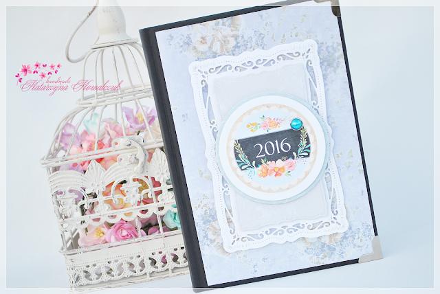 Kalendarz książkowy, dzienny na 2016 rok