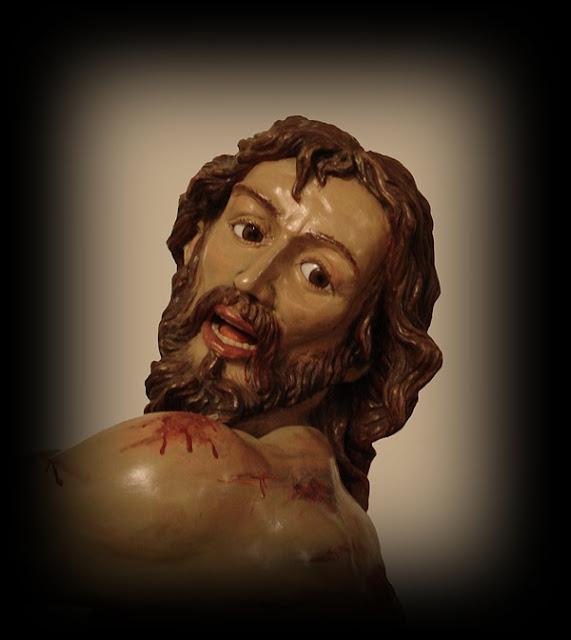 Santo Cristo Flagelado del Desamparo y la Caridad. Manuel López Bécker. 1998. Real Cofradía del Santísimo Sacramento de Minerva y la Santa Vera Cruz. León, anterior a 1513.