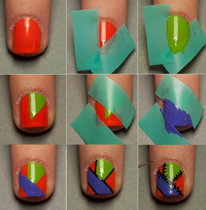 Nail art linda para fazer